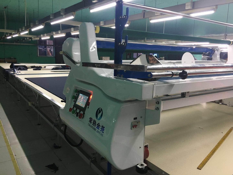 左云裁床主动拉布机专业缝制装备