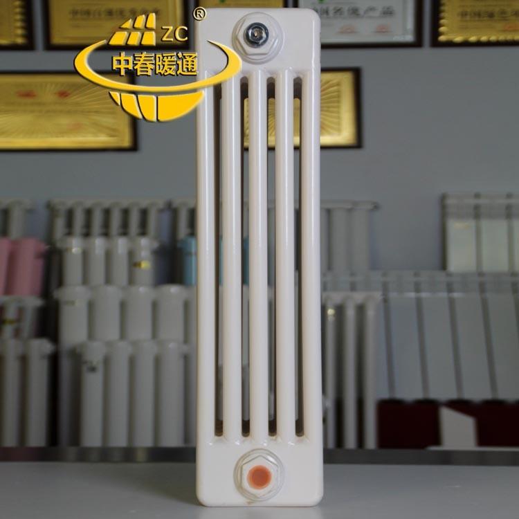 印江GZ618钢六柱暖气片规范散热量